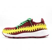 Schuhe Herren 417725-603 Nike Air Footscape Wein Rot/Gelb