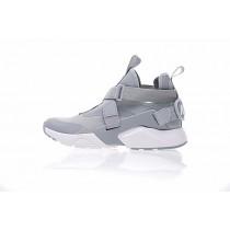 Schuhe Licht Grau 833146-601 Nike Air Huarache V Mid Herren