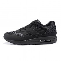 Nike Air Max 1 Woven Black All Schwarz Herren Schuhe 725232-002