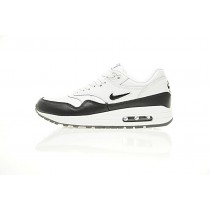 Schuhe Herren Nike Sportswear Air Max 1 Premium Sc Schwarz/Weiß 918354-100