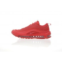 Herren 884421-006 Nike Air Max 97 Schuhe All Rot