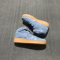 Schuhe Aa1117-800 Unisex Nike Air Force 1 High Blau/Braun