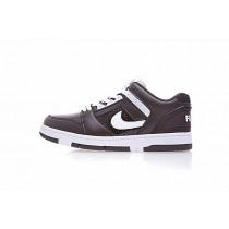 Schuhe Dunkel Braun Supreme X Nike Sb Air Force 2 Low Sb Aa0871-212 Unisex