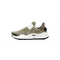 Unisex Schuhe 942198-700 Nike Sock Dart Qs Safari Pack Gelb/Weiß/Schwarz
