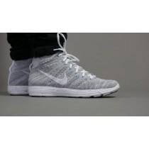 Schuhe Ligh Grau 599347-011 Nike Lunar Flyknit Chukka Htm Herren