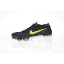 Unisex Nike Air Vapormax Flyknit Germany Schwarz/Gelb Schuhe 849557-333