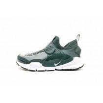 Schuhe Herren Stone Island X Nikelab Sock Dart Mid Forest Grün 910090-300