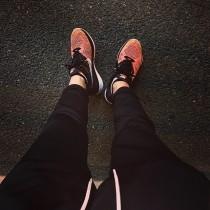 Damen Schwarz/Orange Schuhe 698182-007  Nike Flyknit Lunar3
