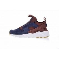 Schuhe Tief Blau/Braun 829669-668 Unisex Nike Air Huarache Ultra Id