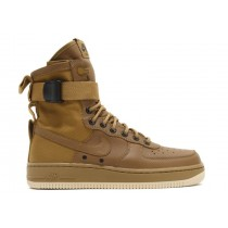 Unisex 857872-200 Nike Special Forces Air Force 1 Faded Olive-Gum Licht Braun Schuhe