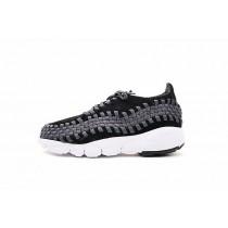 Schuhe 875797-001 Herren Nike Air Footscape Woven Nm Schwarz-Anthracite-Weiß