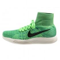 Schuhe Nike Lunarepic Flyknit 818676-700 Electric Grün/Barely Volt/Weiß/Schwarz Herren