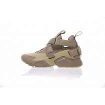 Damen Nike Air Huarache V Mid Schuhe Beige/Ligh Braun 833146-602
