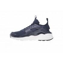 Schuhe Marine Blau Nike Air Huarache Ultra Id Herren 762826-882