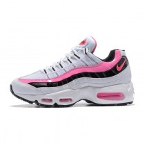 Nike Wmns Air Max 95 Essential Damen Rosa/Weiß/Schwarz Schuhe 74976-065