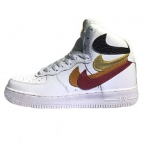 Nike Air Force 1 High Herren Misplaced Checks Schuhe White