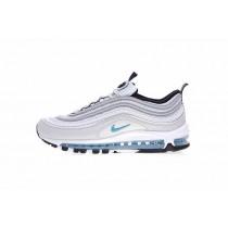 Sliver/Blau Herren Nike Air Max 97 917647-001 Schuhe