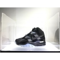 Nike Air Trainer Sc High Qs 302346-016 Schuhe Schwarz-Weiß-Vivid Lila Authentic Damen