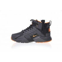 "Schwarz/Orange Herren Schuhe 856787-107 <span class=""__cf_email__"" data-cfemail=""450426372a2b3c2805"">[email protected]</span> X Nike Air Huarache City Mid Lea"