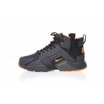 "Schwarz/Orange Herren Schuhe 856787-107 <span class=""__cf_email__"" data-cfemail=""450426372a2b3c2805"">[emailprotected]</span> X Nike Air Huarache City Mid Lea"