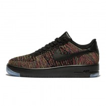 817419-001 Schwarz Crimson Court Lila Unisex Schuhe Nike Air Force 1 Ultra Flyknit Low