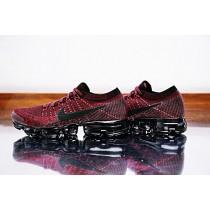 Schuhe Nike Air Vapormax Flyknit Herren 849558-601 Dunkel/Team/Rot
