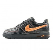 Vlone X Nikelab Air Force 1 Surgeon Schuhe Schwarz Orange Herren 315122-011