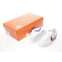 Unisex 885724-164 Schuhe Rot Blau Nike Classic Cortez Leather Mandarin Duck