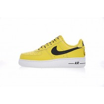 Unisex Schuhe Nba Gelb Schwarz 823511-701 Nba X Nike Air Force 1 Af1