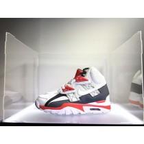 Schuhe 302346-119 Nike Air Trainer Sc High Qs Damen Weiß/Schwarz Rot