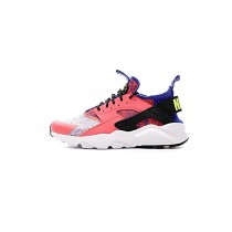 753889-996 Rosa/Weiß/Blau Schuhe Damen Nike Air Huarache Ultra Flyknit Id