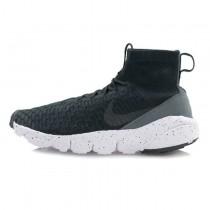 Schwarz Dunkel Grau Nike Air Footscape Magista Flyknit 816560-003 Schuhe Herren