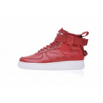Rot/Weiß Schuhe Nike Sf Air Force 1 Utility Mid Unisex