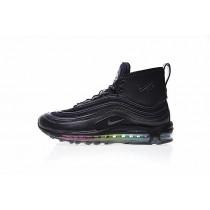 Herren Schuhe Schwarz/Rainbow Riccardo Tisci Ry X Nike Air Max 97 Mid 913314-003