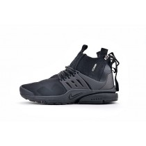 "844672-111 <span class=""__cf_email__"" data-cfemail=""b5f4d6c7dadbccd8f5"">[email protected]</span> X Nike Air Presto Mid Triple Schwarz Herren Schuhe"