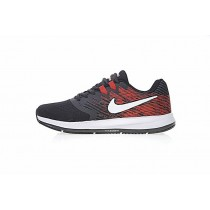 Herren Nike Zoom Winflo 4 Schwarz/Wein Rot/Weiß Schuhe 898466-002
