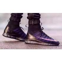 Schuhe Schwarz/Lila 805554-002 Herren Nike Free Mercurial Superfly Savage Beauty