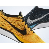 Schuhe 526628-808 Team Orange Nike Flyknit Racer Herren