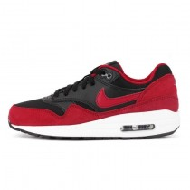 Herren Schwarz/Gym Rot Nike Wmns Air Max 1 Essential 555766-048 Schuhe