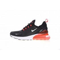 Herren Ah8050-016 Schuhe Nike Air Max 270 Schwarz Weiß Orange Rot