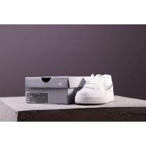 Schuhe Nike Air Force 1 Low Weiß Metallic Gold Unisex 314219-128