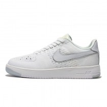 Triple Weiß Unisex Nike Air Force 1 Ultra Flyknit Low Schuhe 817419-011