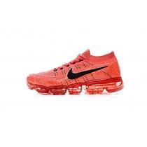 Nike Air Vapormax Flyknit Schuhe 849558-600 Orange Rot/Schwarz Unisex