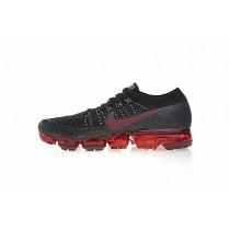 Schuhe Schwarz/Wein Rot 849558-013 Nike Air Vapormax Flyknit Herren