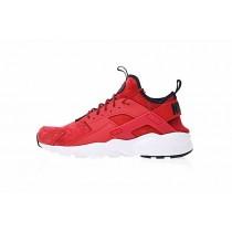 Schuhe Burgundy Schwarz Unisex Nike Air Huarache Ultra Id 829669-666