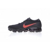 Nike Air Vapormax Flyknit X9 Unisex Schuhe 899473-001 Schwarz Rot