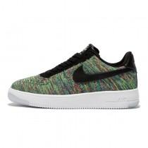 Nike Air Force 1 Ultra Flyknit Low Unisex Schuhe Radian Emerald 817420-405