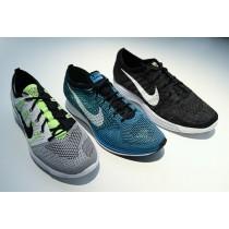 Schuhe Nike Flyknit Lunar Htm Nrg 535089-101 Herren Dunkel Grau