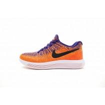 863779-401 Super Orange/Blau/Schwarz Unisex Schuhe  Nike Lunarepic Low Flyknit 2