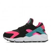 Unisex Schuhe Schwarz/Rosa/Blau Nike Air Huarache 318429-600